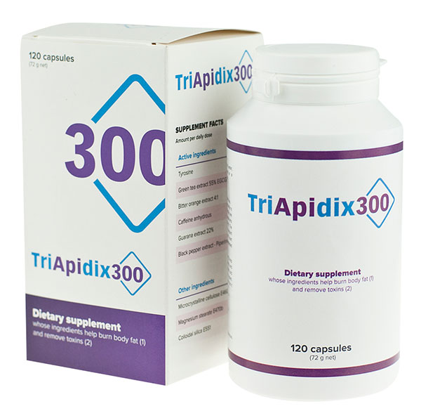 TriApidix300 – spalenie tłuszczu oraz wyregulowanie metabolizmu i apetytu